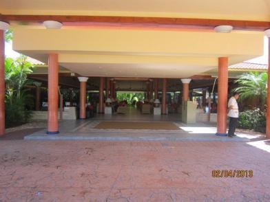 Beach lobby