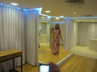 Bridal changing area
