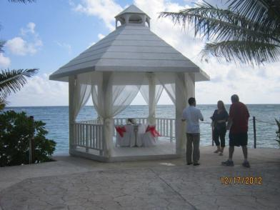 Beautiful wedding gazebo