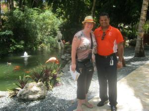 Lillin - my favourite driver with Olympus Punta Cana